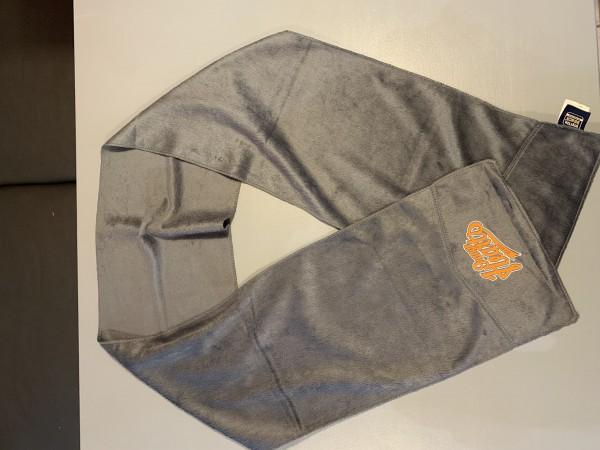 Orange Hearts Schal